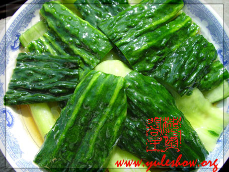 Sweet-and-sour cucumber